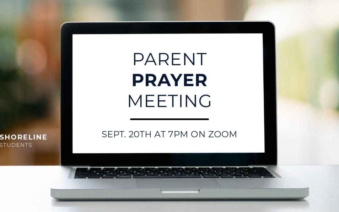 Parent Prayer Meeting