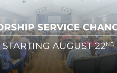 Service Changes Starting on August 22nd