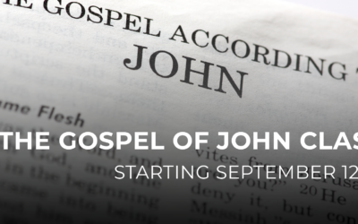 The Gospel of John Class